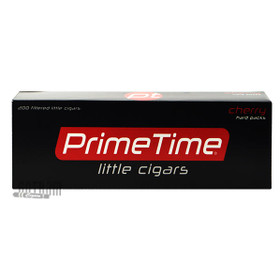 Prime Time Little Cigars Cherry carton