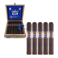 601 Blue Label Maduro Robusto Box & 5 pack