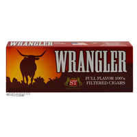 Wrangler Filtered Cigars Full Flavor carton