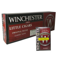 Winchester Little Cigars Soft 85's carton & pack