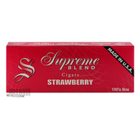 Supreme Blend Filtered Cigars Strawberry carton