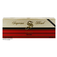 Supreme Blend Filtered Cigars Full Flavor carton