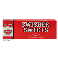 Swisher Sweets Little Cigars Strawberry carton