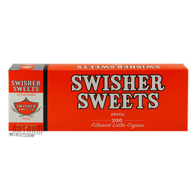 Swisher Sweets Little Cigars Peach carton & pack