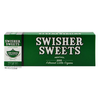 Swisher Sweets Little Cigars Menthol carton & pack