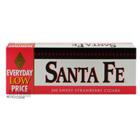Santa Fe Filtered Cigars Strawberry carton