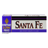 Santa Fe Filtered Cigars Grape carton