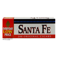 Santa Fe Filtered Cigars Full Flavor carton