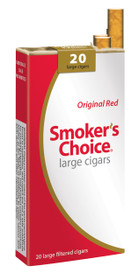 Smoker's Choice Filtered Large Cigars Red Pack