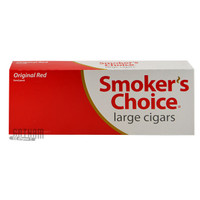 Smoker's Choice Filtered Large Cigars Red carton