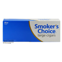Smoker's Choice Filtered Large Cigars Blue Pack