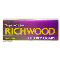 Richwood Filtered Cigars Grape 100 carton
