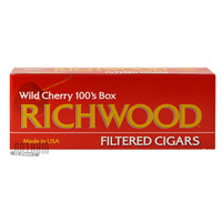 Richwood Filtered Cigars Wild Cherry 100 carton