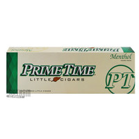 Prime Time Little Cigars Menthol carton & pack