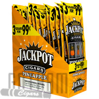 Jackpot Cigarillos Pineapple upright & foilpack