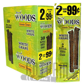 Good Times Sweet Woods White Grape upright & foilpack