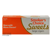 Smoker's Choice Sweets Large Cigars Peach