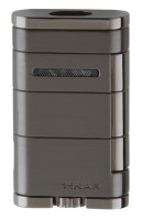 Xikar Allume Double Torch Lighter Black