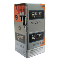 Game Cigarillos Silver Foil Upright