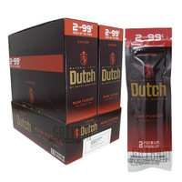 Dutch Masters Cigarillos Rum Fusion 2 for 0.99 Upright & Foilpack