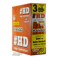 Good Times Cigarillos #HD Mango 3 for 0.99 Upright Box