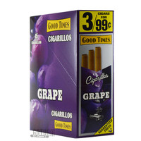 Good Times Cigarillos Grape Box