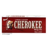 Cherokee Filtered Cigars Cherry Box