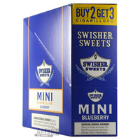 Swisher Sweets Mini Cigarillos Blueberry Box
