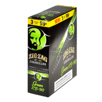 Zig Zag Cigarillos Green KB-90 3 for $0.99