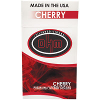 OHM Filtered Cigars Cherry Pack