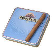 Panter Cigarillos Blue  Tin and Cigar