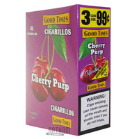 Good Times Cigarillos Cherry Purp