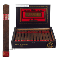 Java Red Robusto Box and Stick