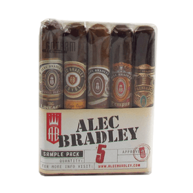 Alec Bradley 5 Cigar Sample Pack