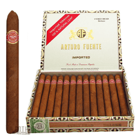 Arturo Fuente Curly Head Natural Deluxe  Box & Stick