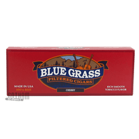 Blue Grass Filtered Cigars Cherry 100's Box