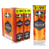 White Owl Cigarillos Honey Bourbon Box and Pack