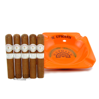 H. Upmann Ashtray plus Montecristo White Rothschilde 5 Pack