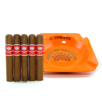 H. Upmann Ashtray plus Romeo y Julieta 1875 Bully 5 Pack