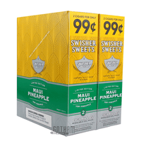 Swisher Sweets Cigarillos Maui Pineapple Box