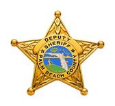 E106 FL Deputy Sheriff Standard 5-Point Star