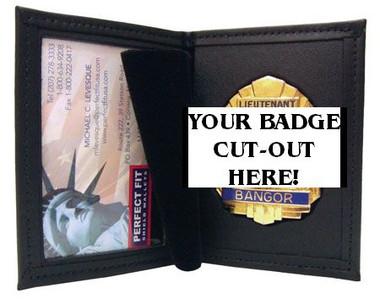 100-D2 Badge & ID case