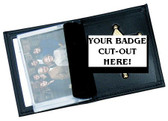 Perfect Fit Model 110 Compact badge Wallet