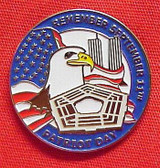 Patriot Day 1-inch Lapel Pin