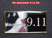 "US Flag Pin ""We Remember 9.11"""