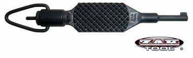 Zak Tool Flat Knurl ZT-9PBlack Swivel Handcuff Key