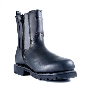 Ridge MC206 All Leather Side Zip Boot
