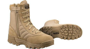 "ORIGINAL SWAT CLASSIC 9"" SIDE-ZIP BOOT-TAN"