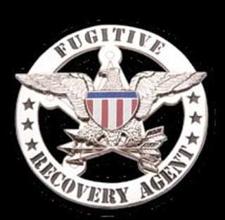 Fugitive Recovery Agent - Round badge