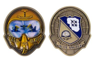 BLUE ANGELS Helmet Coin